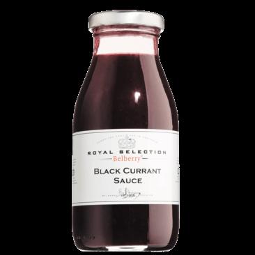Schwarze Johannisbeere Fruchtsauce